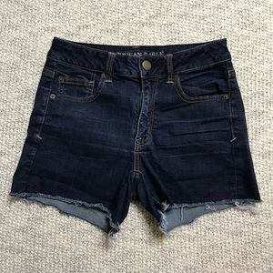 American Eagle Cut Off Jean Shorts Super Stretch